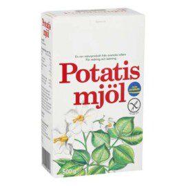 Recept med potatismjöl