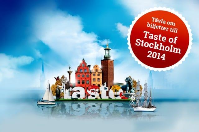 Tävla om biljetter till Taste of Stockholm