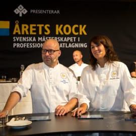 Årets Kock 2015 Semifinal Halmstad Anders Dahlbom och Alexandra Zazzi