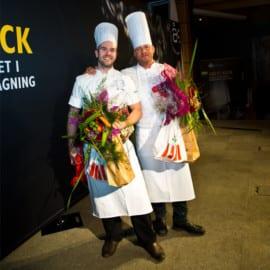 Vinnare Årets Kock 2015 Semifinal Halmstad Daniel Müllern och David Lundqvist