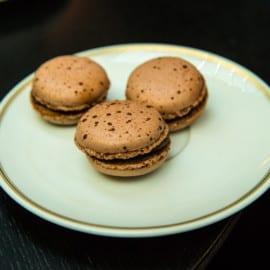 Macarons på Le Pain Francais