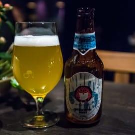 Hitachino Nest Beer White Ale på Restaurang vRÅ Göteborg 2015
