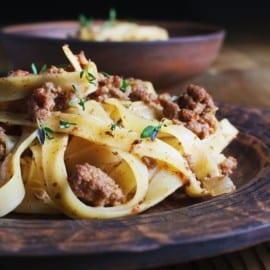 Spagetti med köttfärssås