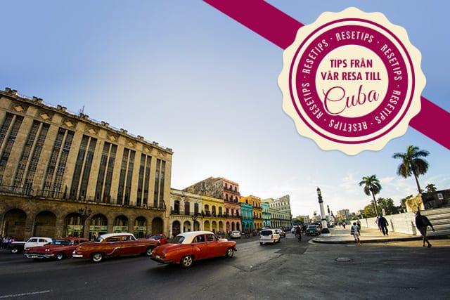 Allt om vår härliga resa till Kuba, Havanna och Varadero