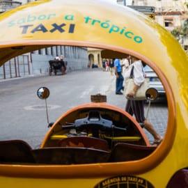 Coco Taxi Havanna Kuba 2015