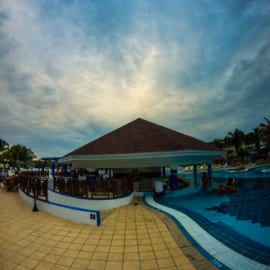 Poolbar Hotel Laguna Azul Varadero Kuba 2015