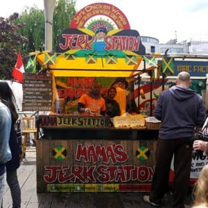 Mamas Jerk Station Camden Market London