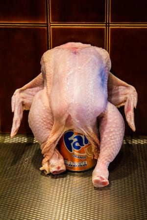 Fanta Can Chicken med apelsinglaze
