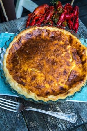 Recept Klassisk Västerbottenspaj