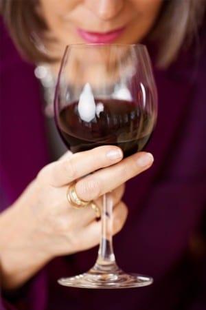 Lukta på vinet