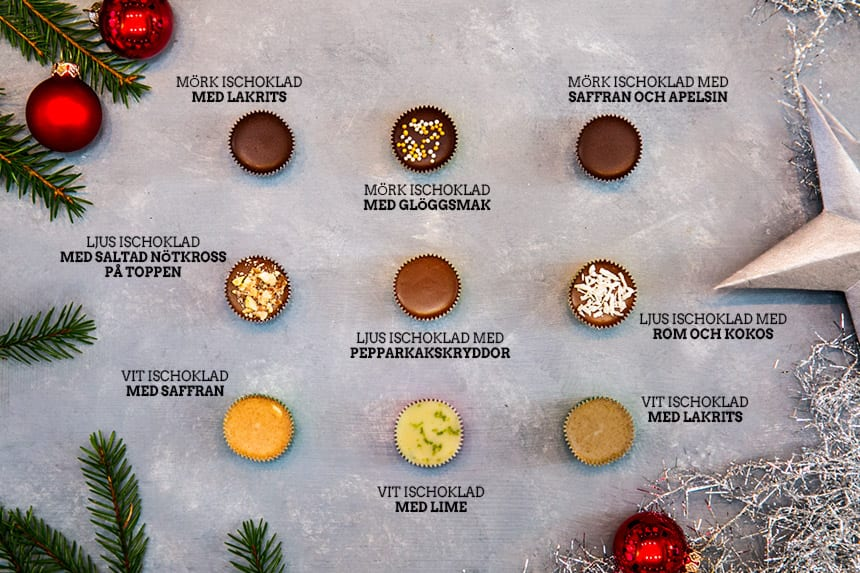 Bästa recepten på ischoklad