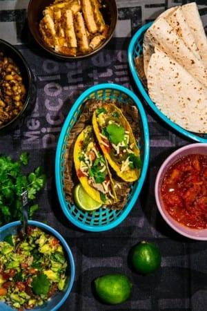 Vegetariska tacos med quorn