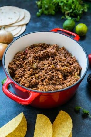 Tacos med chiligryta på högrev