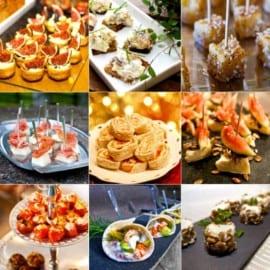 Bästa recepten på aptitretare och mingelmat till nyårsafton