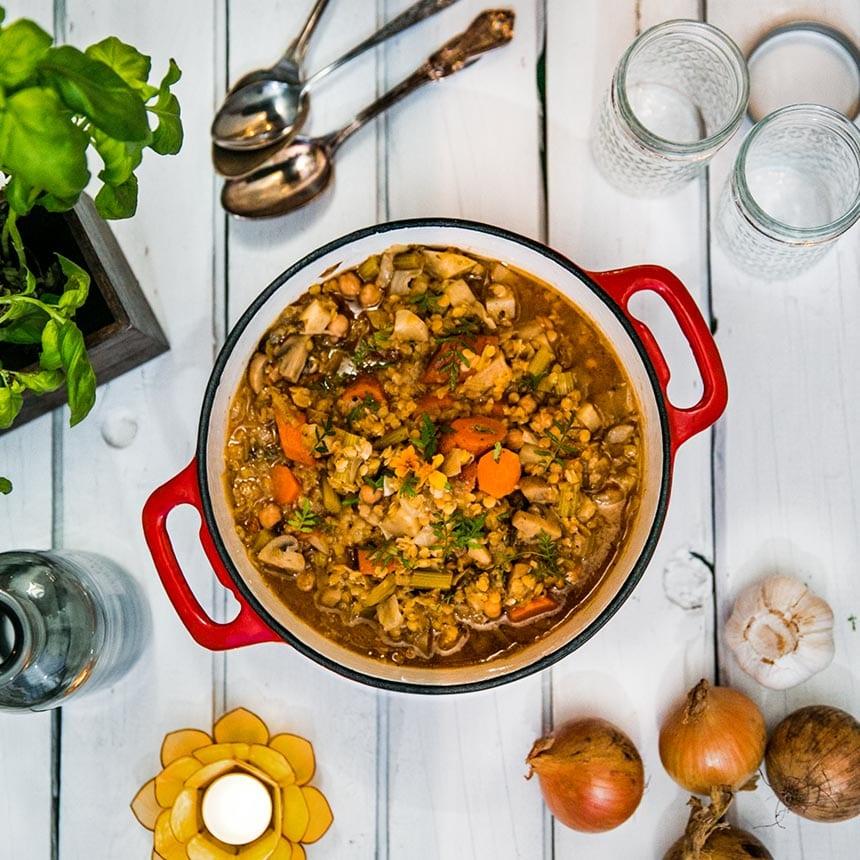 vegetariska grytor recept