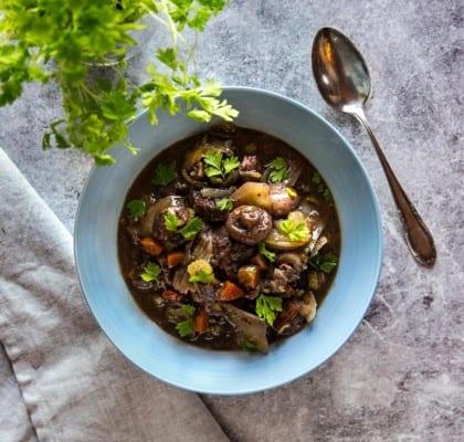 Köttgryta i Crock Pot
