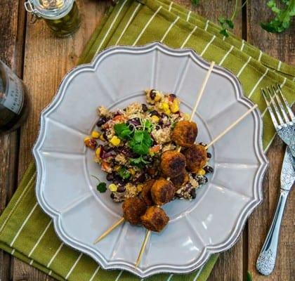 Järpish med quinoasallad