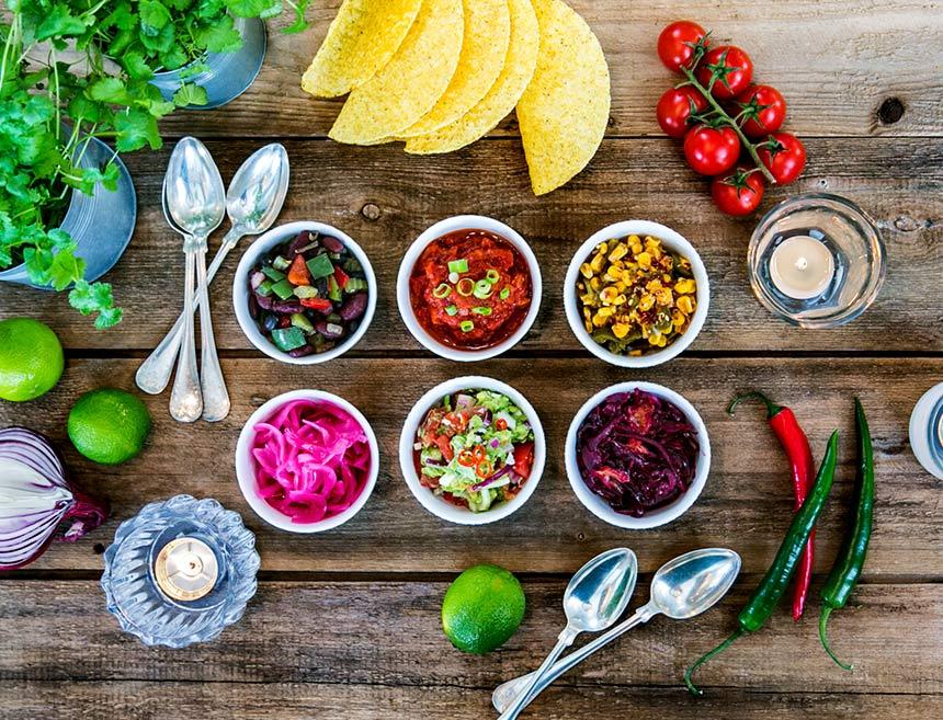 6 goda tillbehör till tacos