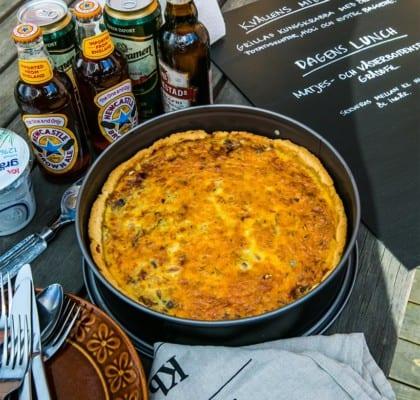 Matjes- och Västerbottenspaj