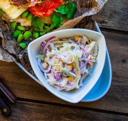 Bästa recepten på coleslaw