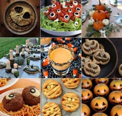 Bästa och läskigaste recepten, dukningarna och inspirationen till halloween