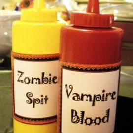 Zombiespott och Vampyrblod