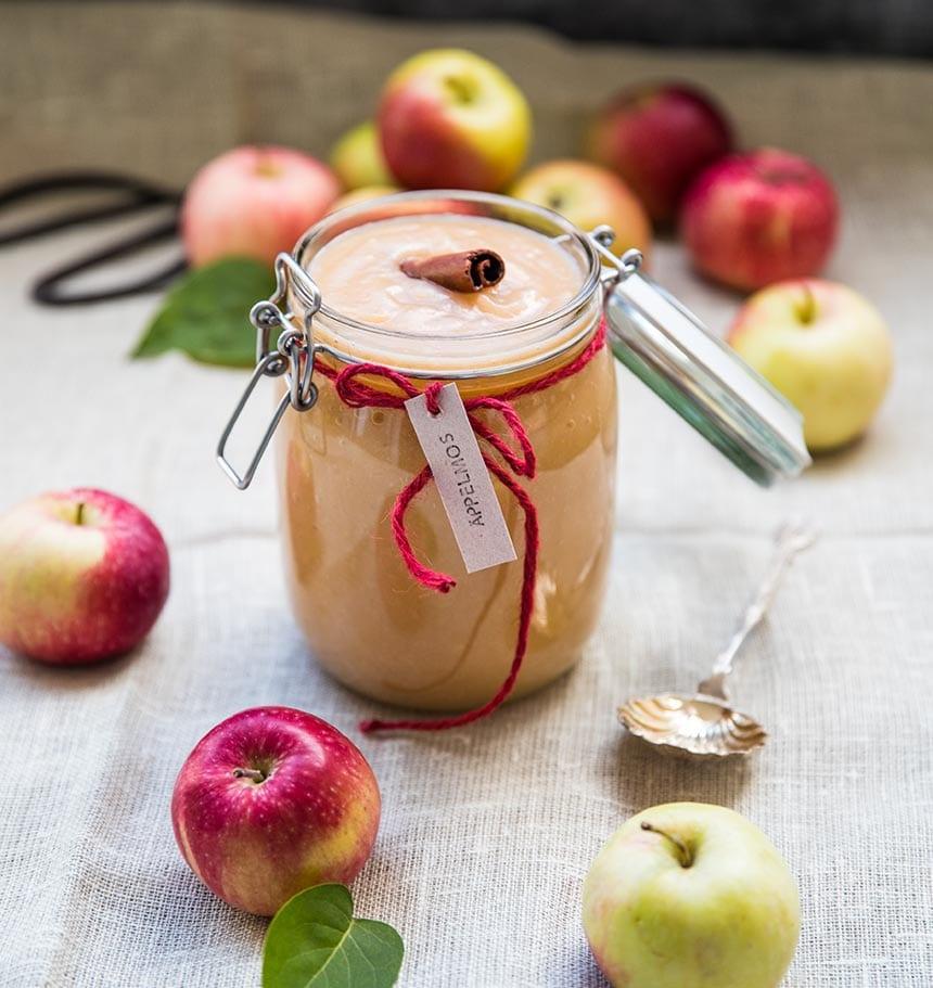 Äppelmos utan socker eller tillsatser