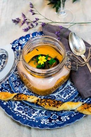 Bouillabaisse med saffranskräm