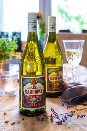 Les Dauphins Côtes du Rhône Organic Blanc