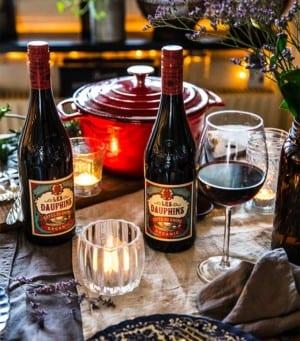 Les Dauphins Côtes du Rhône Organic Rouge