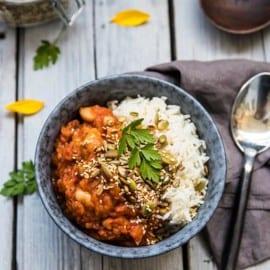 vegetarisk lyxmiddag recept