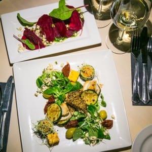 Förrätt på Vegan Restoran V Tallinn