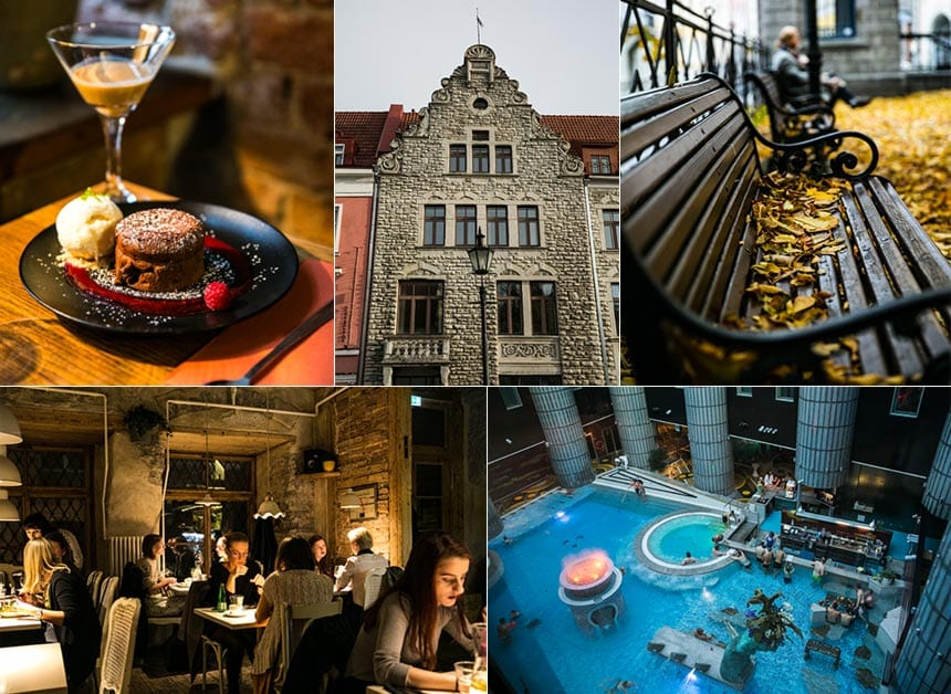 Tips på restauranger och hotell i Tallinn