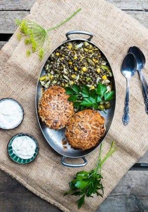 Bönbiffar med kantareller och potatis