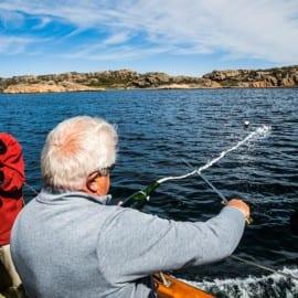 Sabrering på fiskebåten Donalda