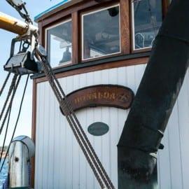 Fiskebåten Donalda i Grebbestad