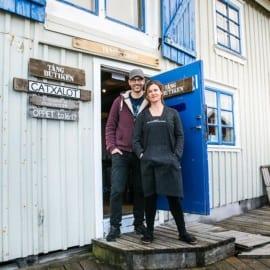 Jonas och Linnea på Catxalot