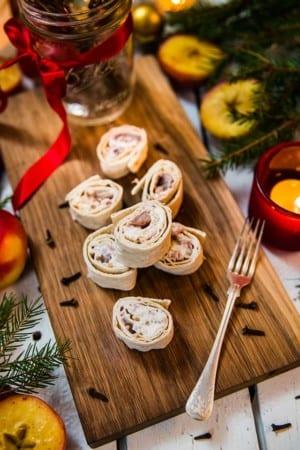 Sillrullar med matjessill och tunnbröd