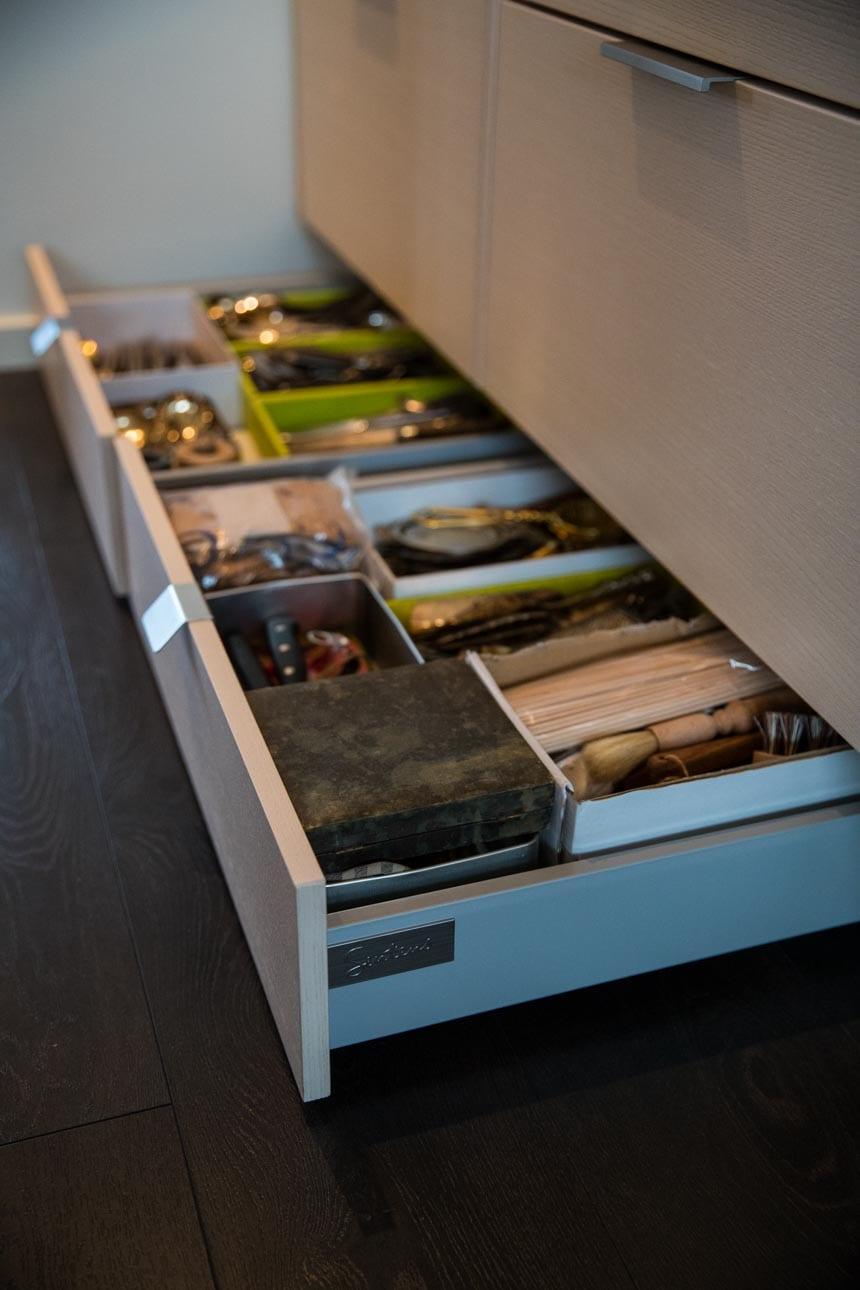Sockellådor är smart förvaring från Electrolux Home