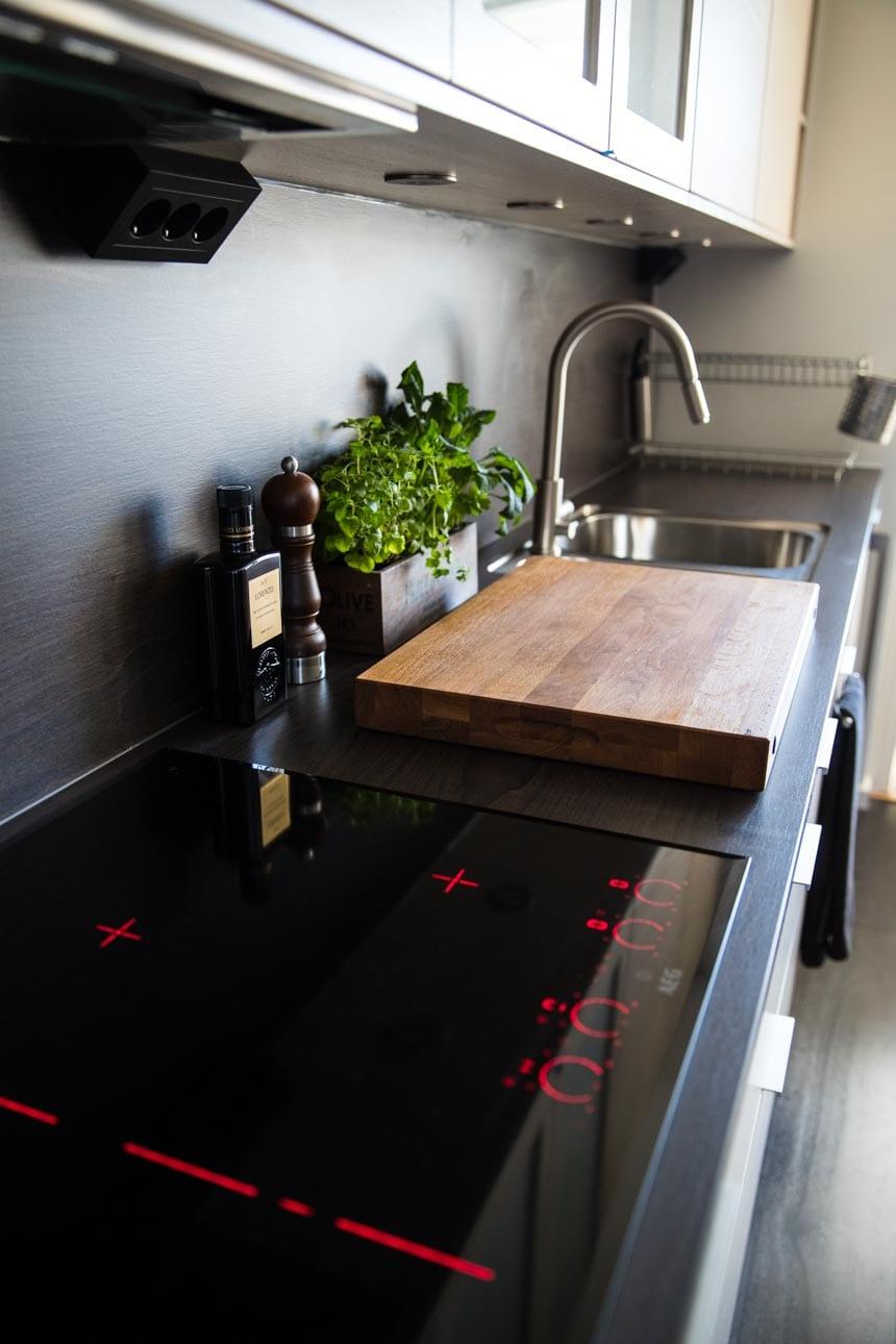 Induktionshäll 70 cm från AEG i kök från Electrolux Home