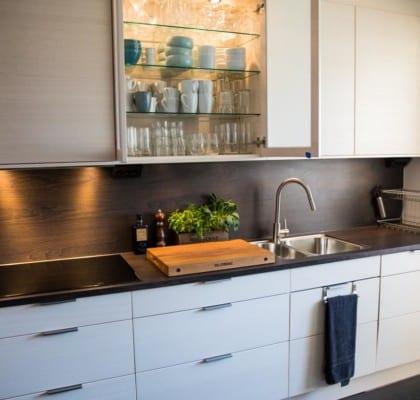 Landleys nya kök från Electrolux Home