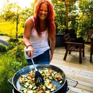 Madeleine Landley lagar paella