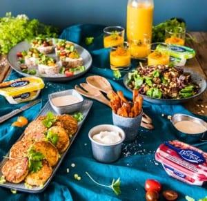 5 enkla recept till vegetarisk buffé