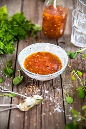 Sweet Chilisås med ingefära