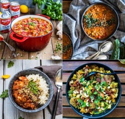 6 Bästa recepten på vegetarisk gryta