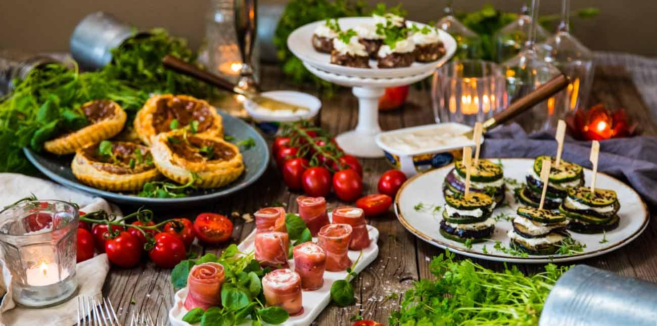 lättlagad mat till fest