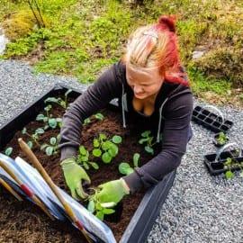 Madeleine Landley odlar