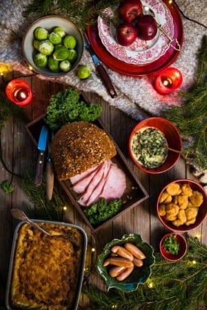 Julmat på julbord