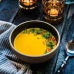 Morotssoppa med curry
