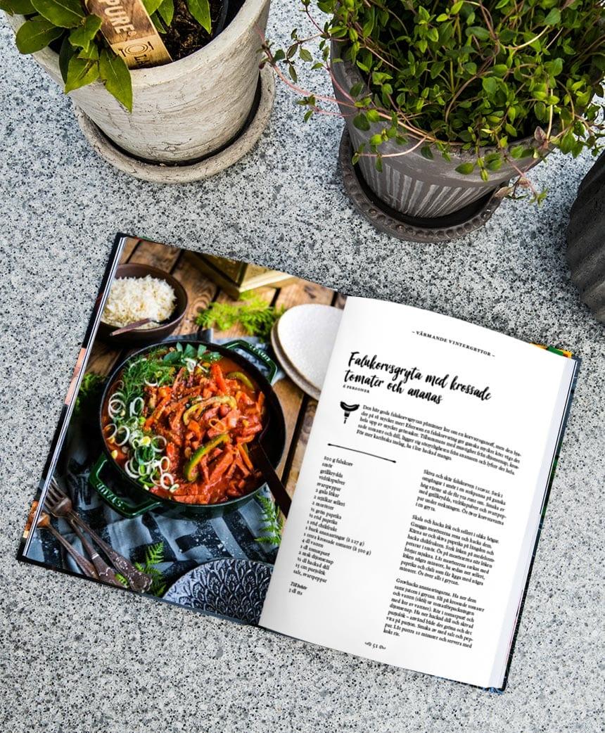 Boken från Landleys kök:Grytor –lättlagat till vardag och helg insida
